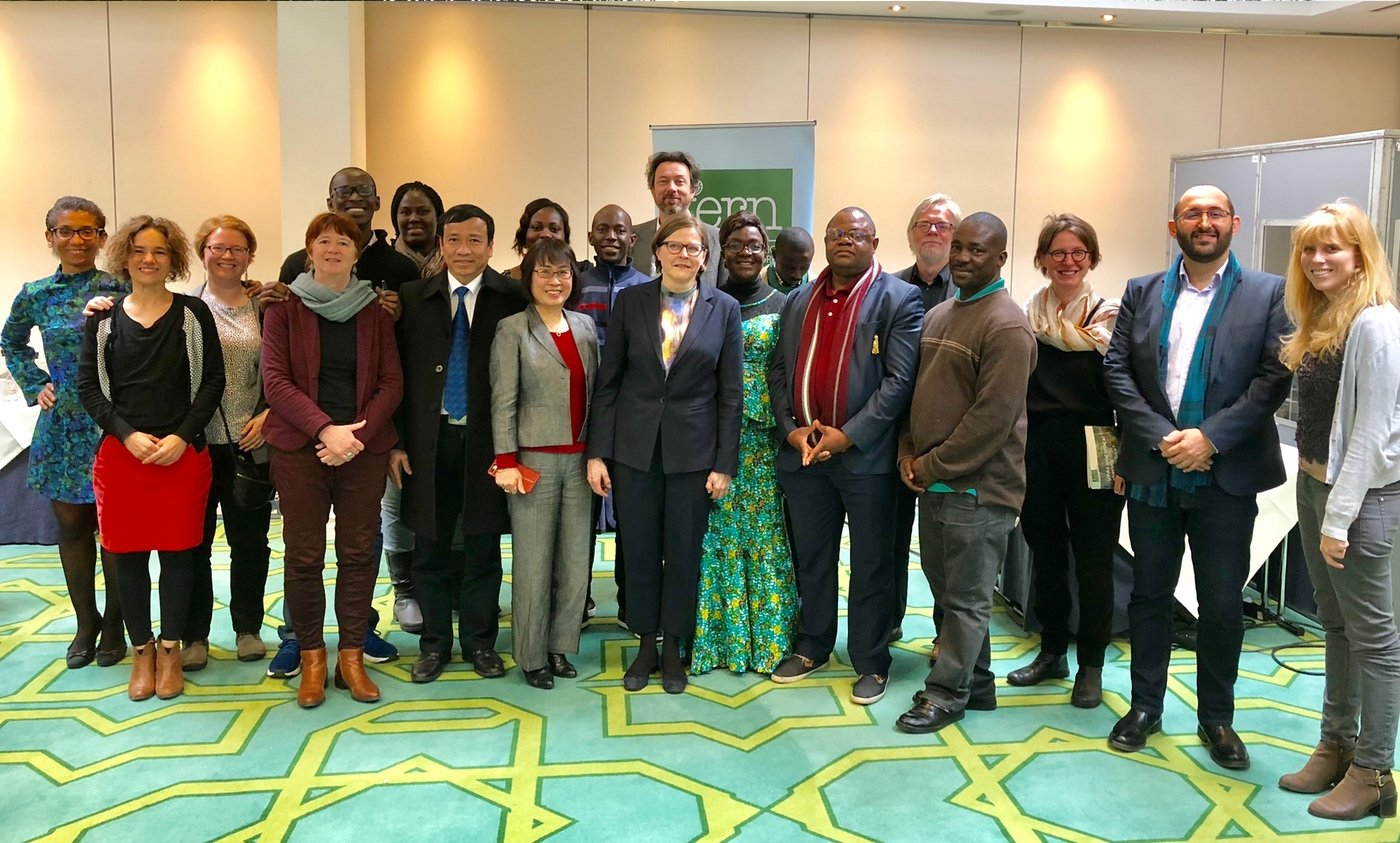 Fern partners visit in Brussels
